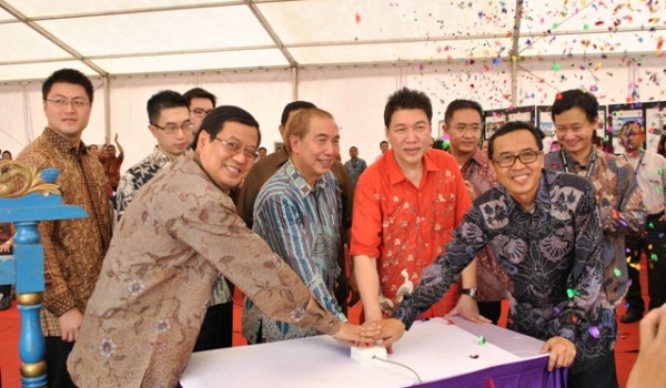Event Ground Breaking BINUS University 12 December 2012 @BINUS Alam Sutera