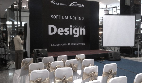 "Event ""Soft Launching School of Design BINUS University"" 29 January 2014 @Fx Senayan Jakarta"