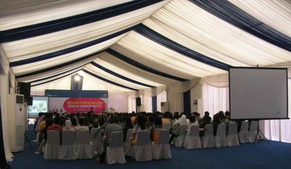 "Event ""Grand Open House BINUS University Alam Sutera"" 12 February 2012 @Alam Sutera Tangerang"