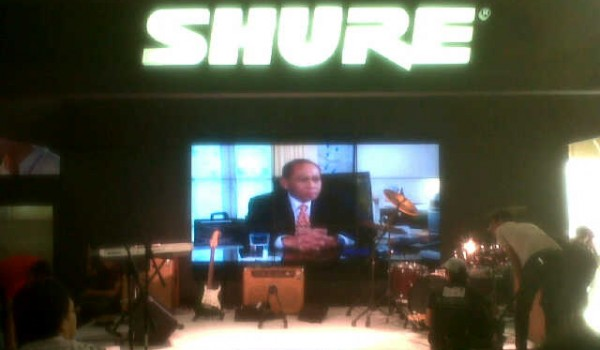 Event JAVA JAZZ FESTIVAL (JJF) 01-03 March 2013 – BOOTH SHURE, @JI Expo Kemayoran Jakarta
