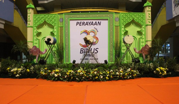 """Event """"Ulang Tahun ke 33th BINUS University – BINUS Berbagi 1 July 1981-1 July 2014"""" 1-2 July 2014 @Campus Anggrek BINUS"""