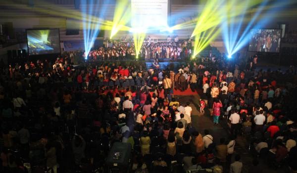 Event : Anniversary 50th GKPI – Ibadah Raya Yubileum, 7 September 2014 @Tennis Indoor Senayan Jakarta