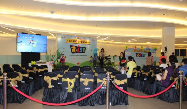Event : Grand Opening RISE @ Living World Alam Sutera-Tangerang, 25 October 2014