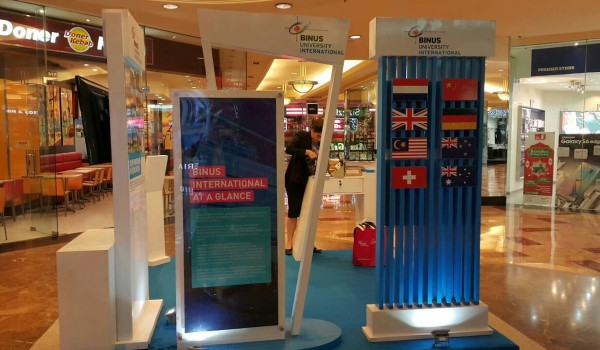 Event : BINUS International Exhibition 22-28 June 2015 @Mall Taman Anggrek​ Jakarta
