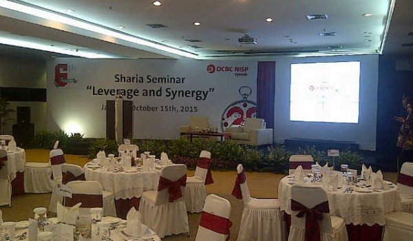 "Event : Anniversary 6th OCBC NISP Syariah"" October 15th, 2015 @OCBC TOWER Jakarta"