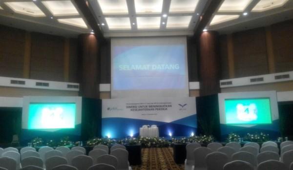 """Event : Bank MEGA """"Sinergi Untuk Meningkatkan Kesejahteraan Pekerja"""" 11 November 2016 @Gedung Trans TV Jakarta"""
