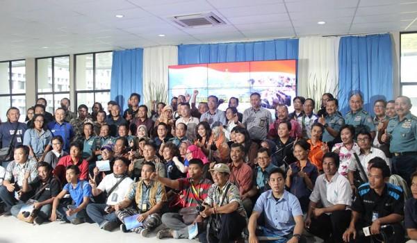 """Event : MABES TNI AL """"Halal Bi Halal KASAL bersama Media Massa"""" 28 July 2016 @MABESAL Cilangkap Jakarta Timur"""