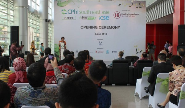 "Event : ""CPhI South East Asia 2016"" 6,7,8 April 2016 @Jakarta International Expo"