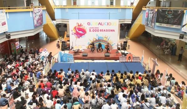 "Event : BINUS University ""GLOBALICIOUS 2015 Launching 5.000 Beasiswa"" 5 September 2015 @Campus Anggrek Jakarta"