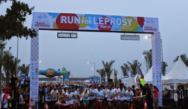 "Event : BINUS University ""RUN FOR LEPROSY 15 March 2015 @Alam Sutera Tangerang"