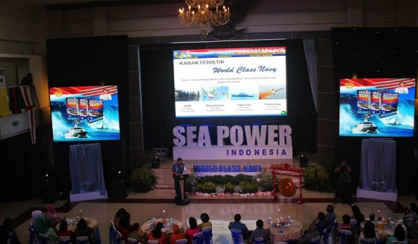 "Event MABES TNI AL Cilangkap ""Launching Buku SEA POWER INDONESIA & WORLD CLASS NAVY, 11 June 2014 @SESKOAL Jakarta"