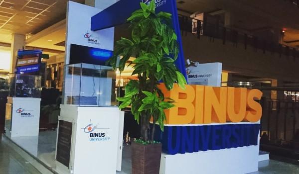 Event : BINUS University Exhibition 2016 @Pondok Indah Mall 2 Jakarta, @Blok M Plaza Jakarta, @Ciputra Mall Cibubur