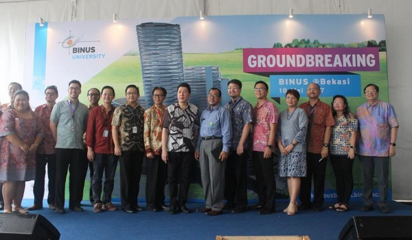 Event : Ground Breaking BINUS University, 18 May 2017 @Summarecon Bekasi,